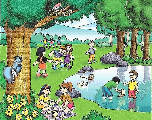 Dibujos Animados Del Cuidado Del Medio Ambiente Imagui