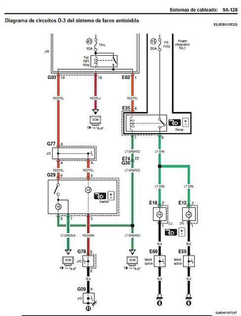 suzuki 88 - instalar luces antiniebla delanteras  2009  3 u00aa generaci u00f3n