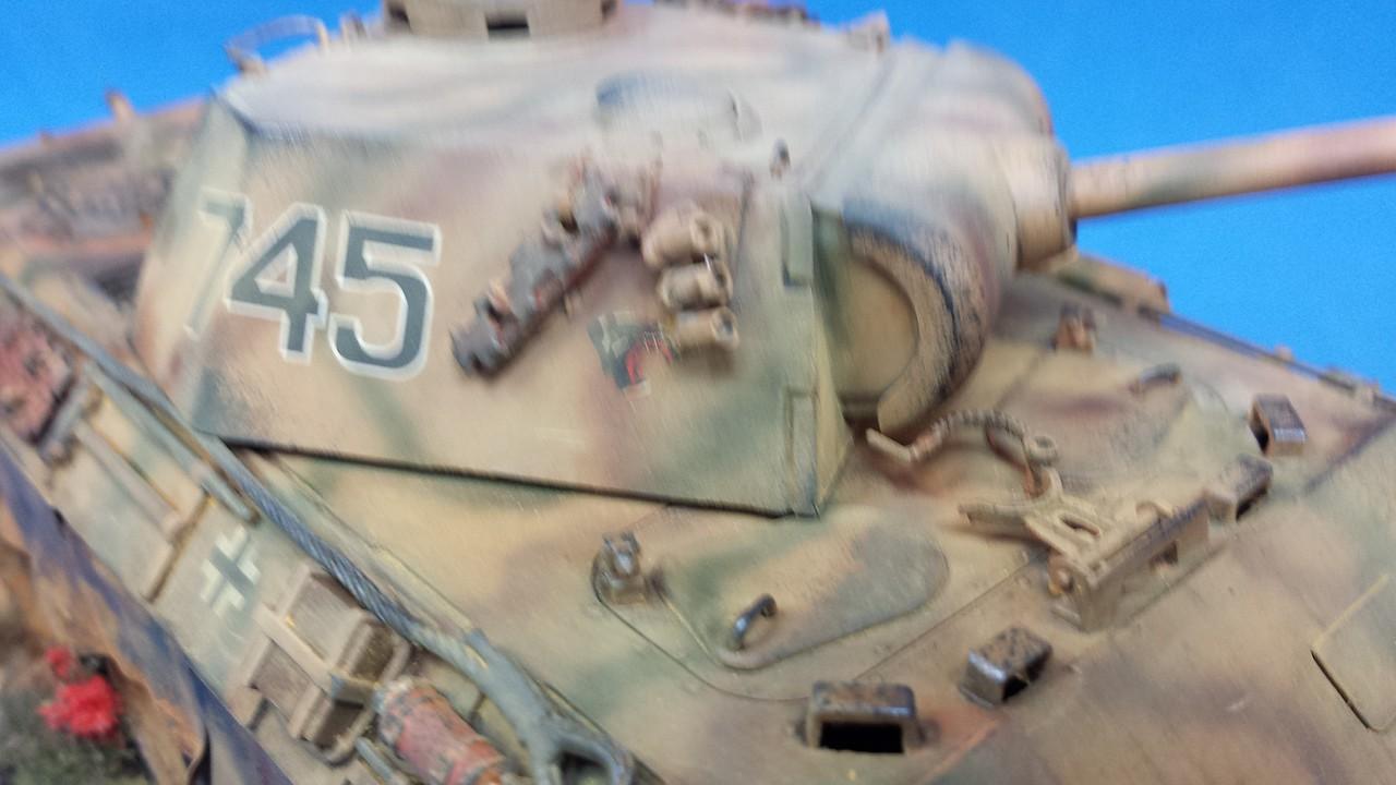 Panther Ausf D - italeri - 1/35 19539658A0285321E0512A5321D95D