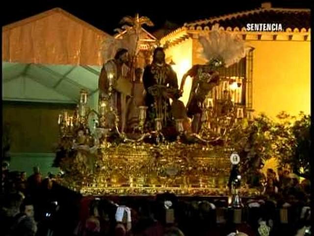 semana santa malaga 2010 nuestro padre jes�s de la sentencia. a Nuestro Padre Jesus de