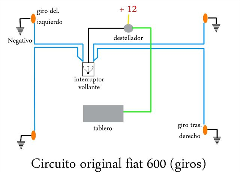 Circuito Luces Led Intermitentes : Fiat club pasión por el fitito problemas con