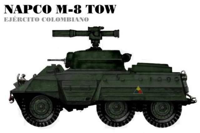 Vehicle idea: M8 TOW