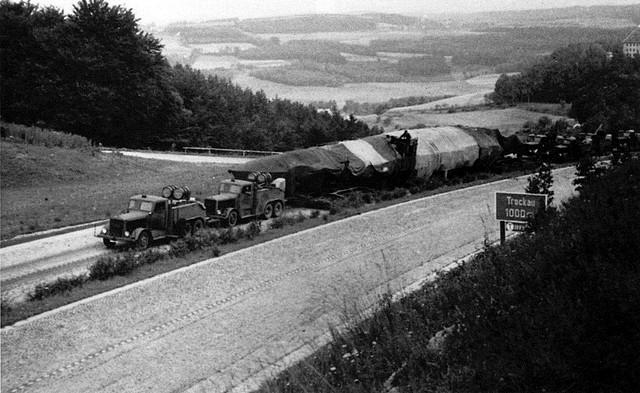 Transporte por una autobahn