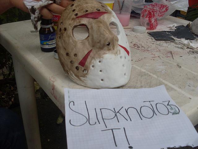 Hice La Mascara De Jason Voorhes y Te Lo Muestro