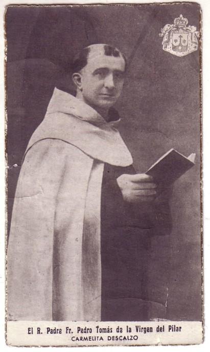 Fray Pedro Tomás de la Virgen del Pilar.