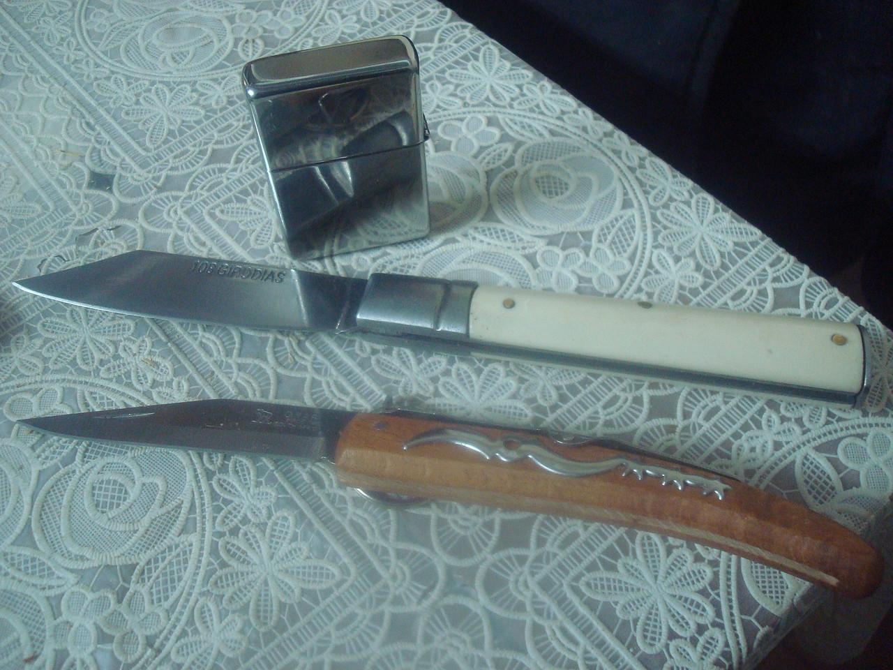 Foro armas blancas cuchillos navajas y m s dos regalos de africa navajas - Navajas buenas ...