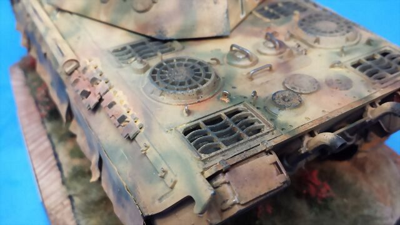 Panther Ausf D - italeri - 1/35 27539657BB325321DF68265321D878