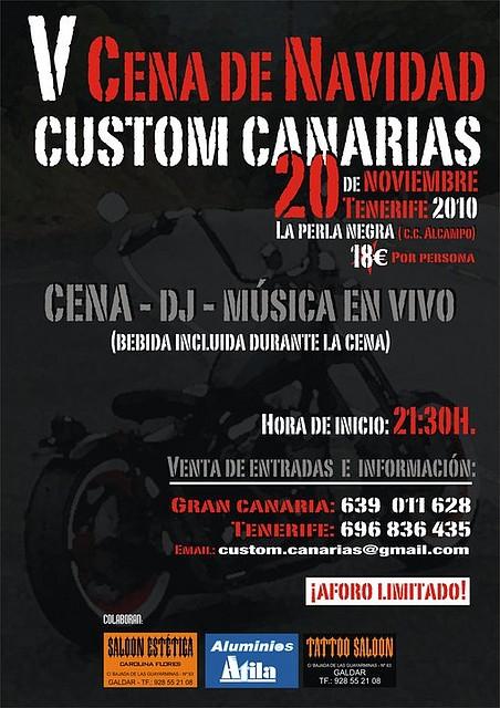 V CENA NAVIDAD CUSTOM CANARIAS 2010 224D1816CD314CC8ACC62C4CC8ACC1