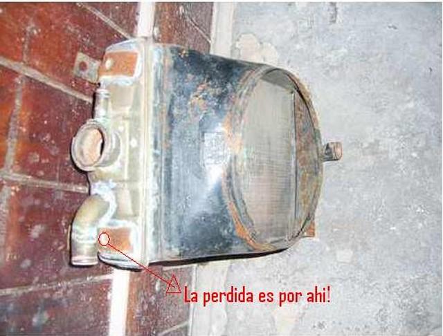 Fiat 600 club pasi n por el fitito pierde agua por el for Radiador pierde agua por llave