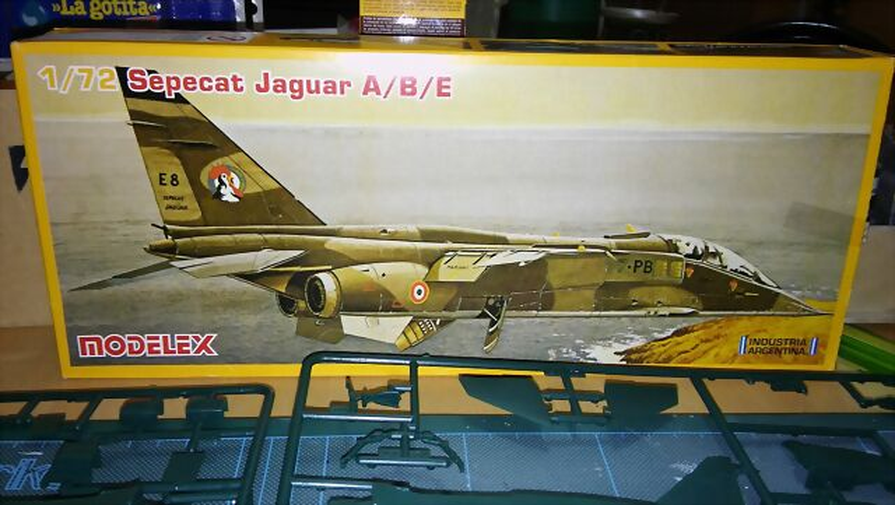 unosetentaydos - Sepecat Jaguar A/B/E Modelex - AVIACION (1:72) PD
