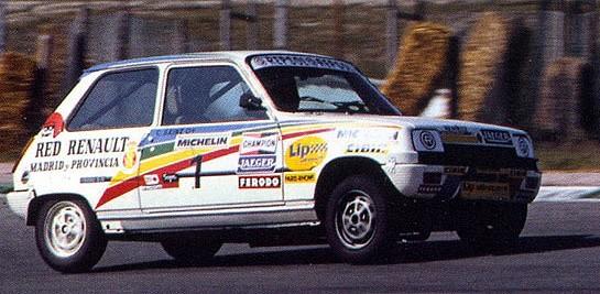 Slot Adictos - Carlos Sainz. Renault 5 TS Copa Renault Iniciación ...
