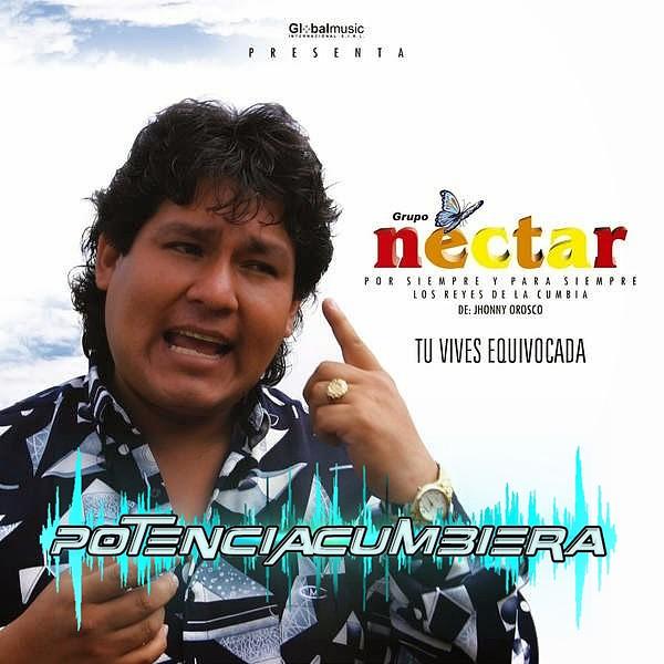 PotenciaCumbiera Net - Grupo Nectar - Tu Vives Equivocada CD