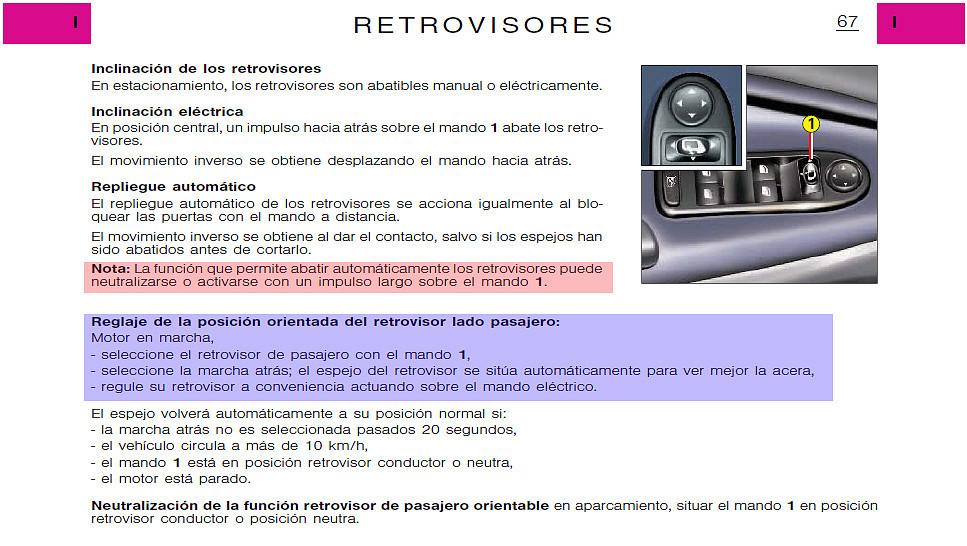 CITROEN C5 Hatchback 2001-8//2008 Espejo climatizada asférica Vidrio controladores secundarios