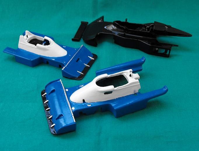 Tyrrell P34, Bicolor, Slot,