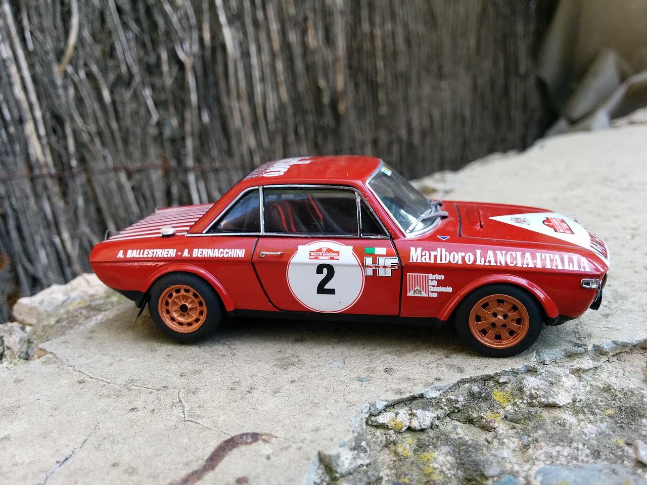 Lancia Fulvia San Remo 72. Racing 43 a escala 1/43 38540003563B53720234365372021D
