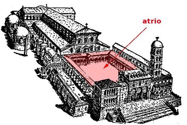 Atrio paleocristiano galer a de eadzharte fotos for Architecture byzantine definition