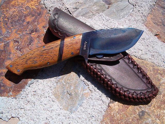 Cuchillos artesanales viejos desolladores casi todos Herramientas artesanales