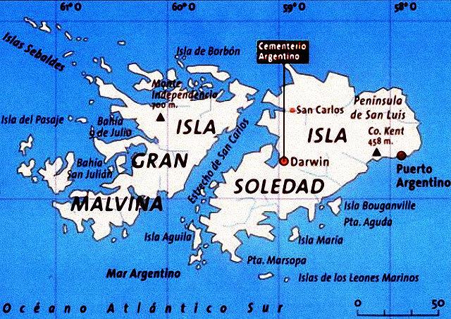 Las islas Malvinas: una historia conflictiva
