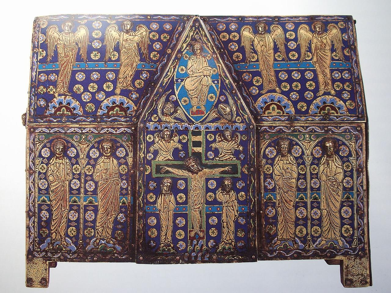 Resultado de imagen de Arqueta relicario,1185-1195, Limoges