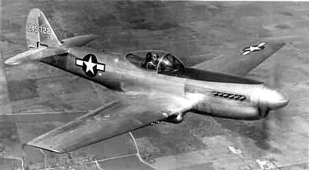 En abril de 1944, Curtis realizó una mejora fundamental en la P-40. El número mejorado de aviones fue XP-40Q