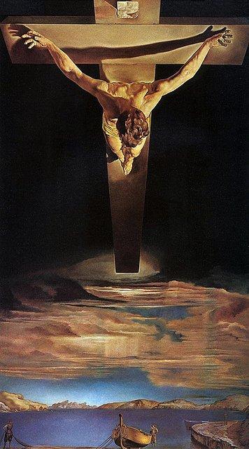 Cuadro: Cristo de San Juan de la Cruz