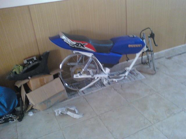 Ciclomotores argentinos - Preparacion De Suzuki AX100 - Ciclomotores
