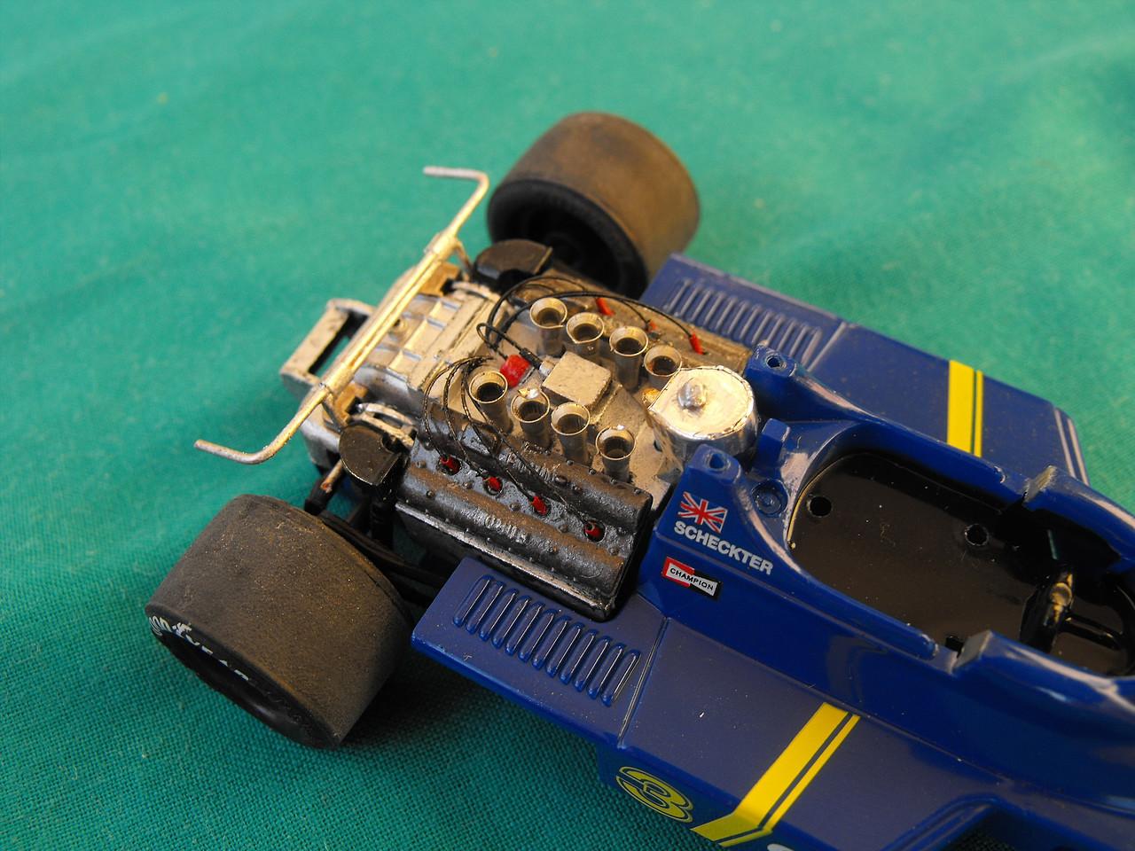Tyrrell, P34, Engine,