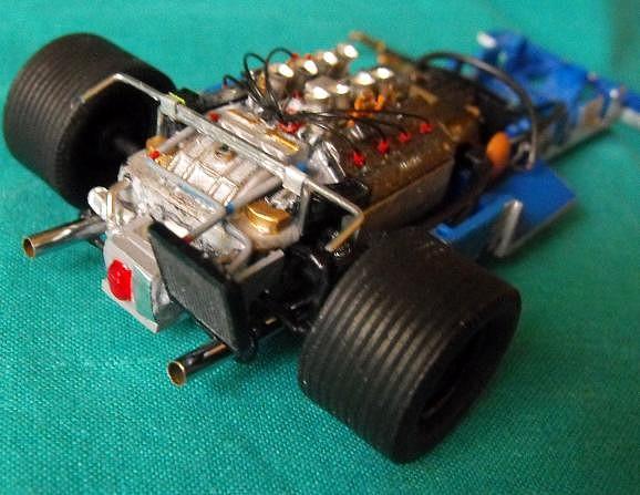 Motor Tyrrell P34, Slot,