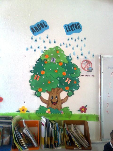 arbol lector escuela primaria candelaria quiroz