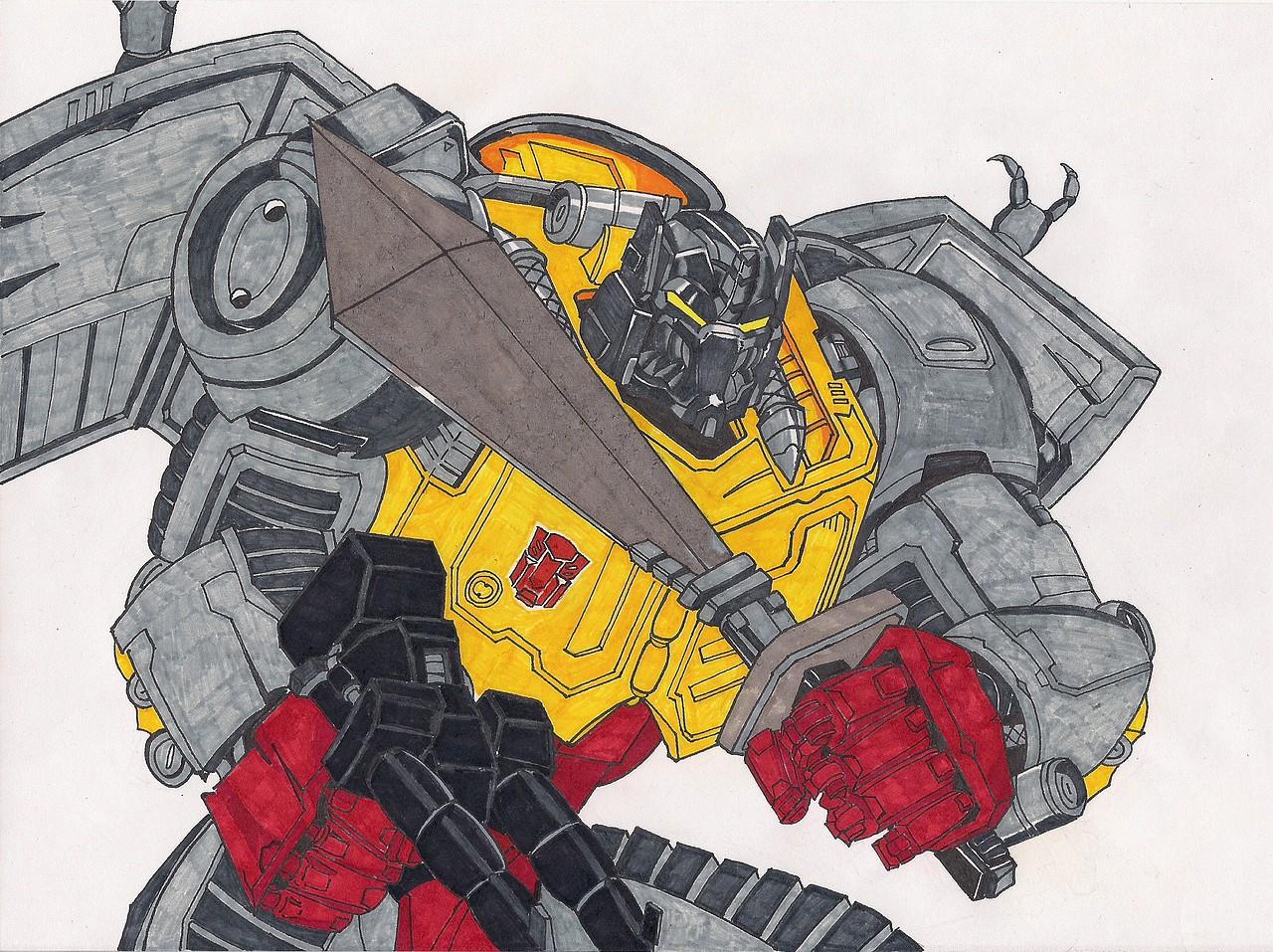 Foros Transformers Hispanos Un Par De Dibujos Fan Art