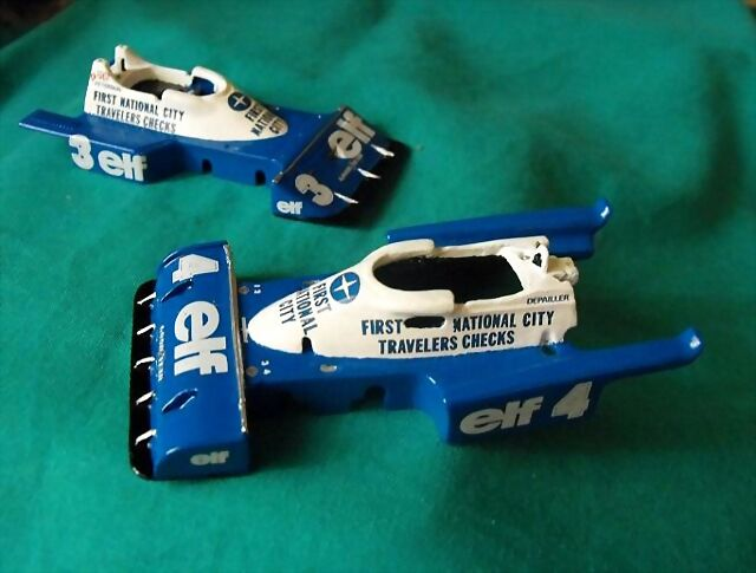 Calcas, Tyrrell P34, Slot,