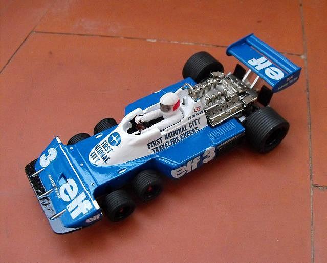 Tyrrell P34, Slot,