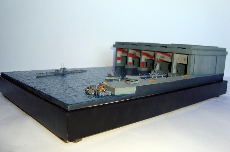 La Guarida de los lobos - Base U-Boat 1/700 2A52FD14E9355294E4542B5294E2D0