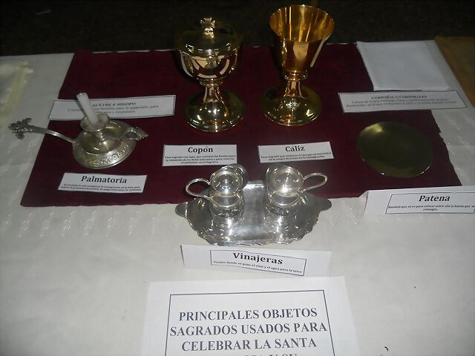 Credencia Iglesia : Ceremonia y rúbrica de la iglesia española palmatoria otros