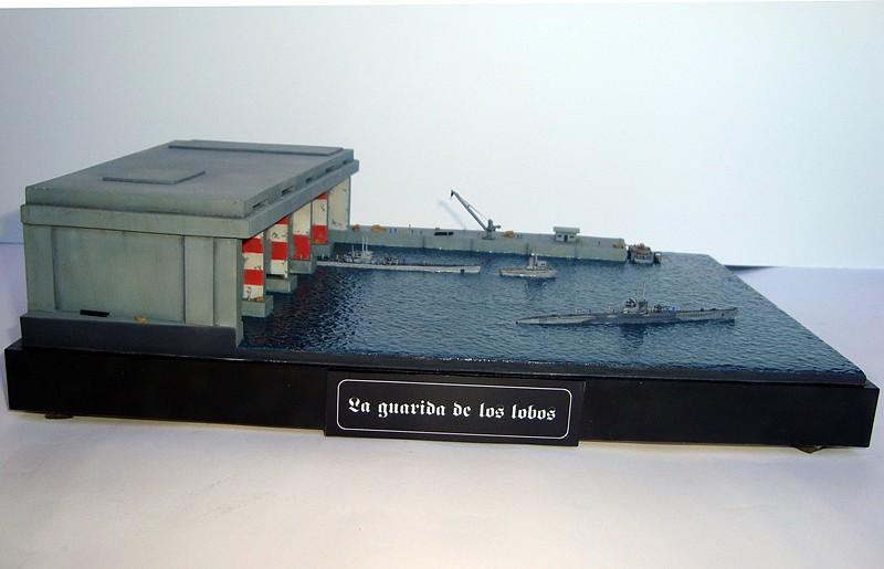La Guarida de los lobos - Base U-Boat 1/700 2A52FD14BC315294E423345294E2A3