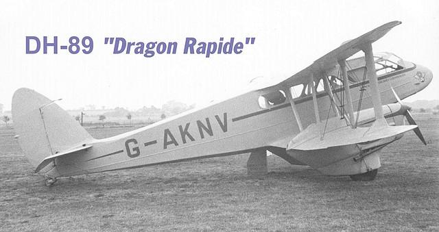 Dragón Rapide DH-89