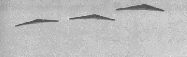 Formación de alas volantes norteamericanas Northrop N1-M