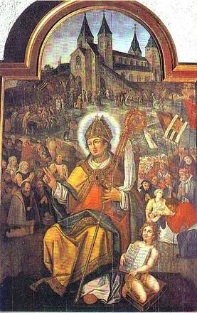 Resultado de imagen para San Wilibordo de Utrecht