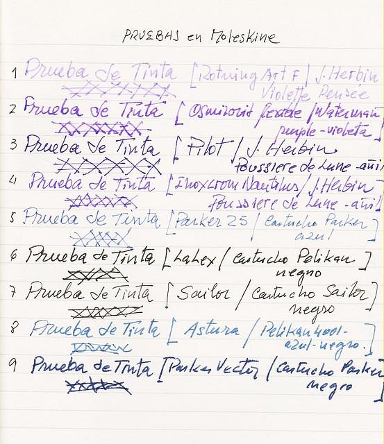 Foro de Estilográficas - Tintas... plumas y papeles - Tintas