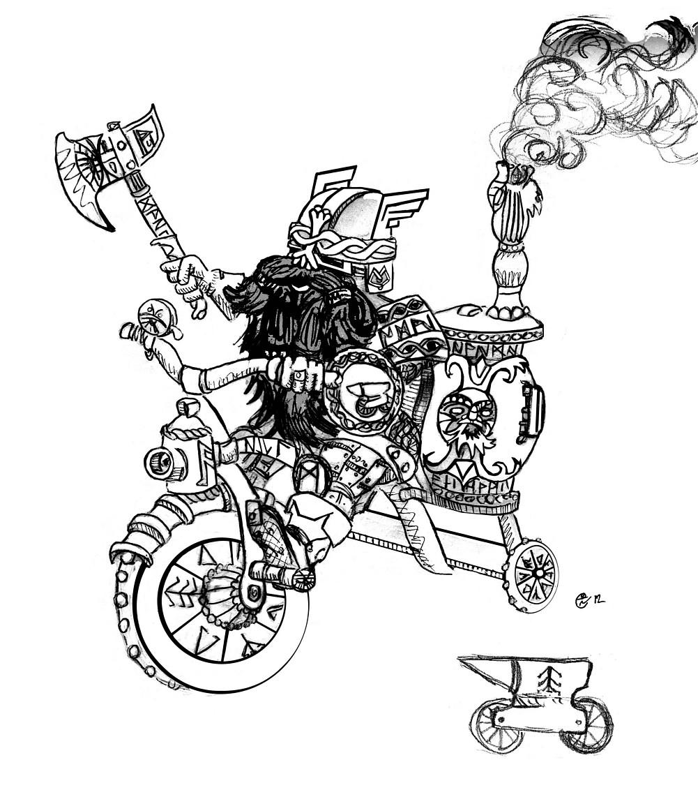 Warhammer Aquí - ¡Se veía venir! ¡Caballería mecanizada enana ...