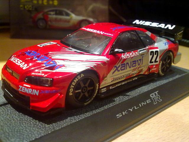Nissan skyline gtr de ssd slot sport digital - Scalextric sport digital console ...