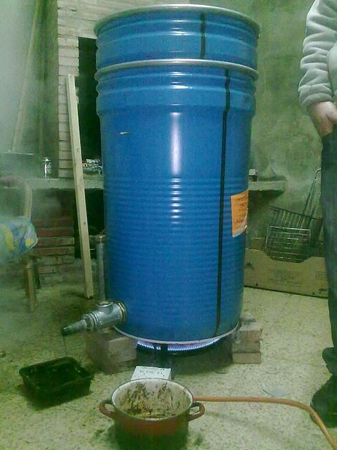 Extractor De Baño Easy:Comunidad de foros de Apicultura – CALDERA CASERA DE VAPOR – Chincheta