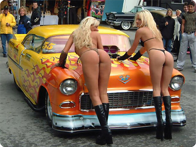 Coches Decorados Chicas Interior
