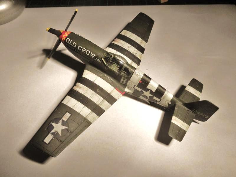unosetentaydos - P-51 B Mustang (Hasegawa 1/72). GT Mustang ...