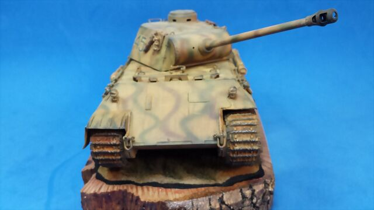 Panther Ausf D - italeri - 1/35 1C5396567E345321DE262D5321D73B