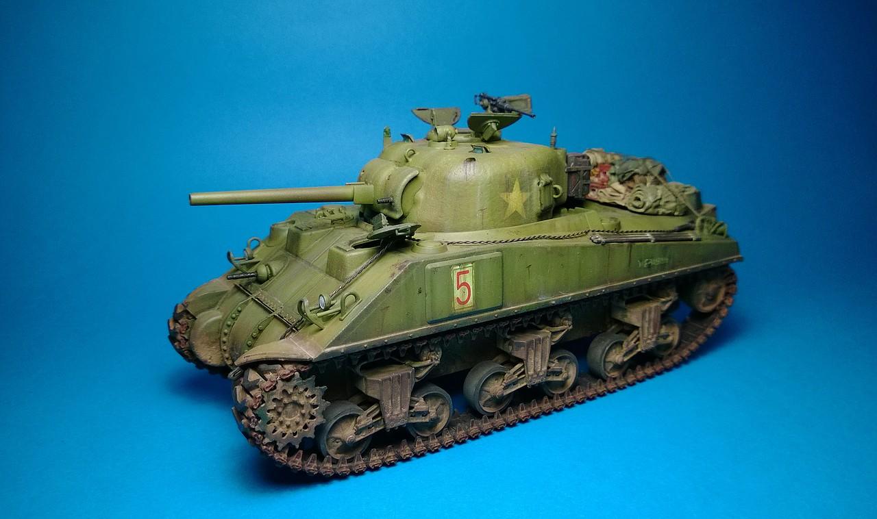 Sherman M4A4 dragon 1/35 2E5302E31623527B92802E527B918F
