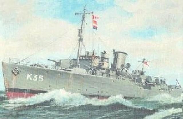 Corbeta HMS Violet K35