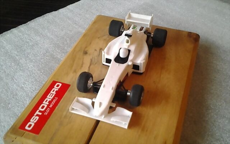 Ostorero y la formula uno slot sport digital - Scalextric sport digital console ...