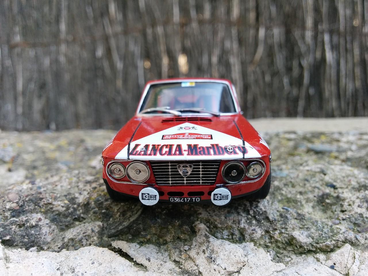 Lancia Fulvia San Remo 72. Racing 43 a escala 1/43 265400045234537203323653720319