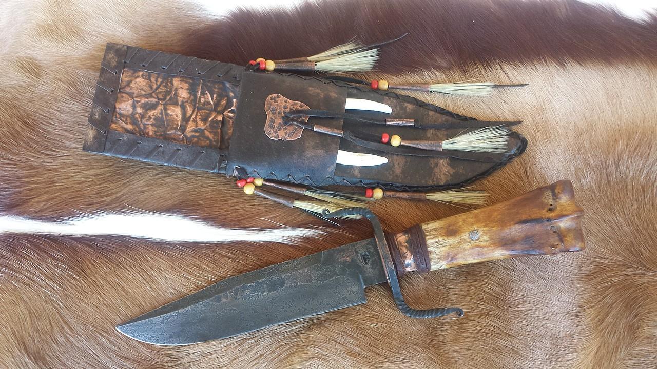 Cuchillos de gerber vintage 1970